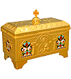 Brass Holy Bread Boxes