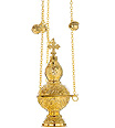 Gold Plated Orthodox Censer