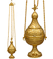 Orthodox Censer (No Bells)