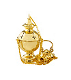 Brass Censor and Boat