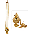 Brass Censor with Crosses (No Bells)