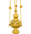 Censer incense burner with 12 Bells