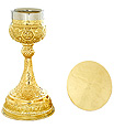 Chalice and Paten Set in High Polish Finish