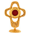 Handmade Brass Monstrance