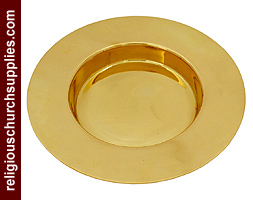 Brass Stacking Bread Plate