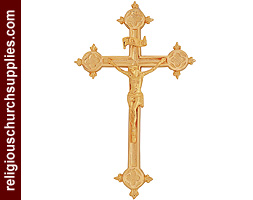 Brass Crucifix Catholic