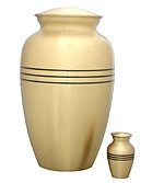 Brass Nickel Mat Finish Urns